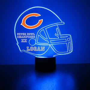 Chicago Bears Football LED Sports Sign