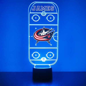 Columbus Blue Jackets Hockey Rink LED Sports Sign