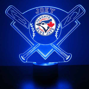 Toronto Blue Jays Baseball LED Light Sports Sign