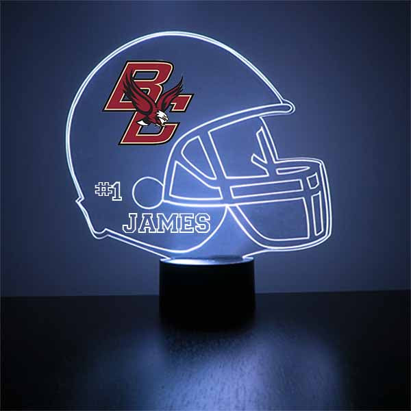 Boston College Helmet LED Light Sports Sign