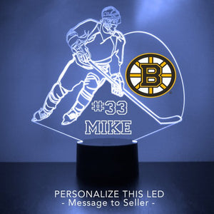 Boston Bruins LED Night Light