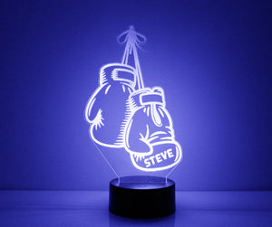 Boxing Gloves LED Night Light