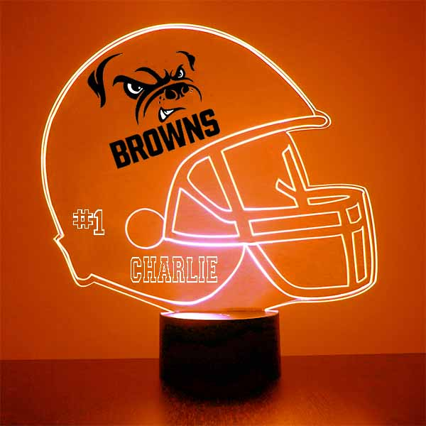 Cleveland Browns Football LED Sports Sign