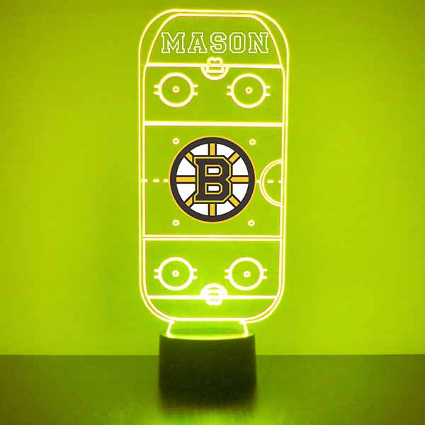 Boston Bruins Hockey Rink LED Sports Sign