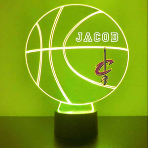 Cleveland Cavaliers Basketball LED Light Sports Sign