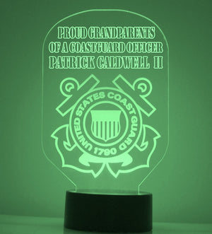 US Coast Guard LED Night Light