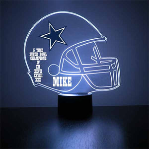 Dallas Cowboys Football LED Sports Sign