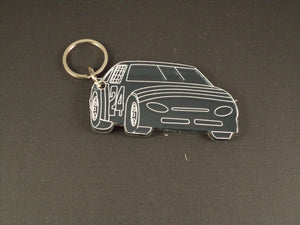 Racecar Key Chain