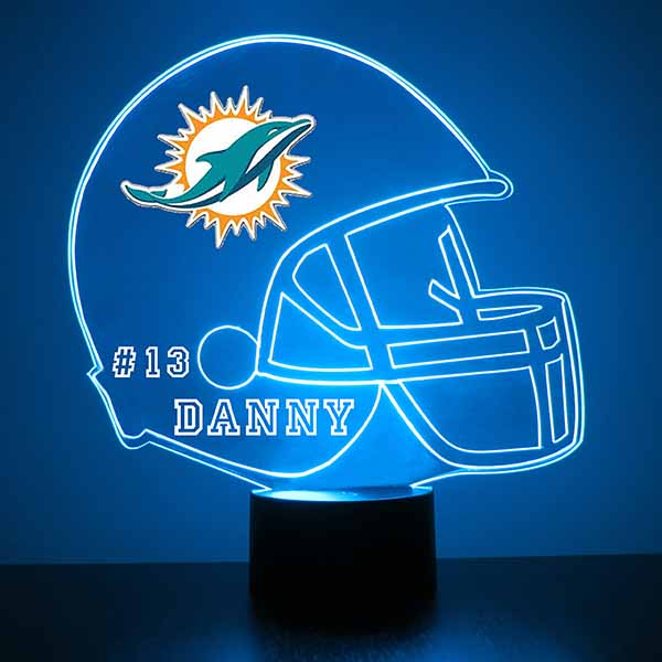 Miami Dolphins Football LED Sports Sign