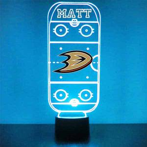 Anaheim Ducks Hockey Rink LED Sports Sign