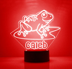 Frog LED Night Lamp