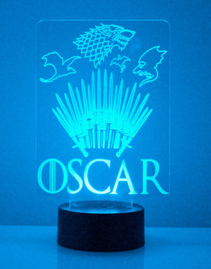 Game of Thrones LED Night Light
