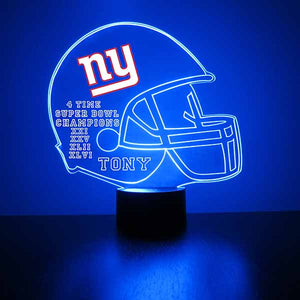 New York Giants Football LED Sports Sign