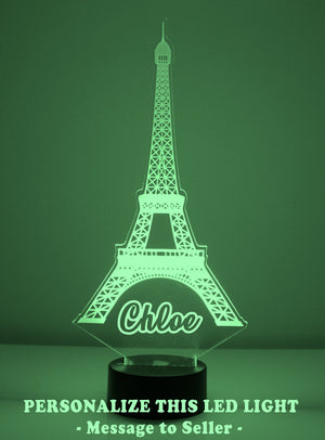 Eiffel Tower LED Night Light