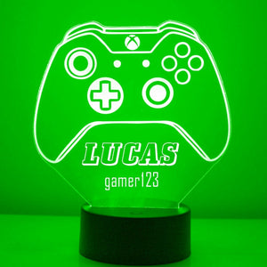 Xbox Controller LED Gamer Sign