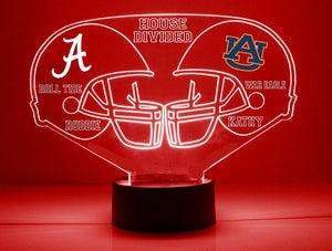 House Divided Helmets LED Sports Sign