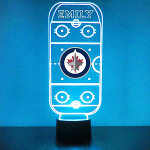 Winnipeg Jets Hockey Rink LED Sports Sign