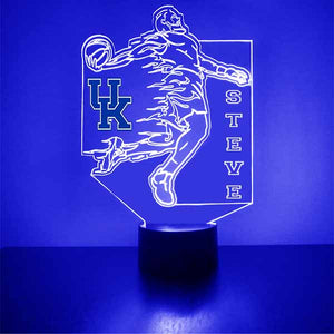 Kentucky Wildcats Basketball Player LED Night Light