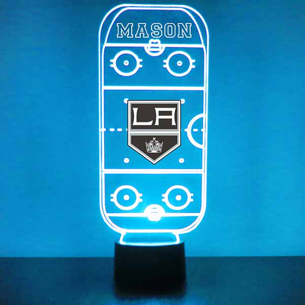 Los Angeles Kings Hockey Rink LED Sports Sign