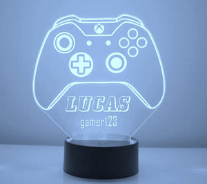 Xbox Controller LED Night Light