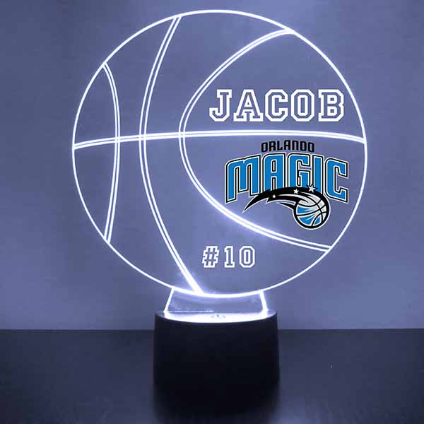 Orlando Magic Basketball LED Light Sports Sign