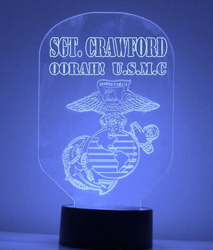 US Marines LED Night Light