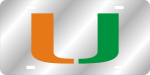 University of Miami License Plate