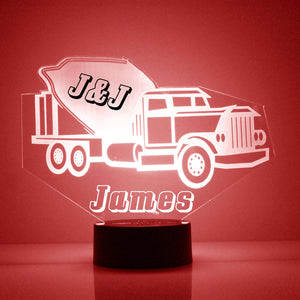 Mix Truck LED Night Light