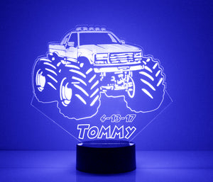 Monster Truck LED Night Light