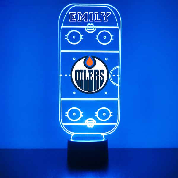 Edmonton Oilers Hockey Rink LED Sports Sign