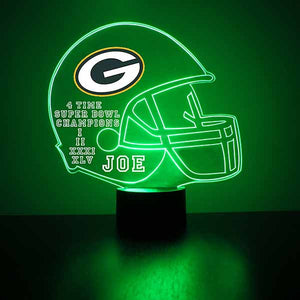 Green Bay Packers Football LED Sports Sign