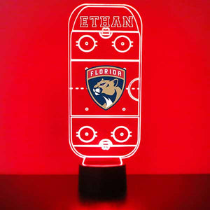 Florida Panthers Hockey Rink LED Sports Sign