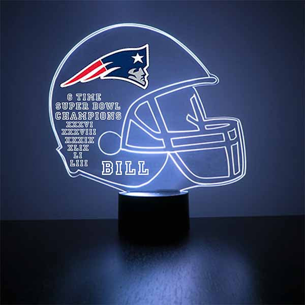 New England Patriots Football LED Sports Sign