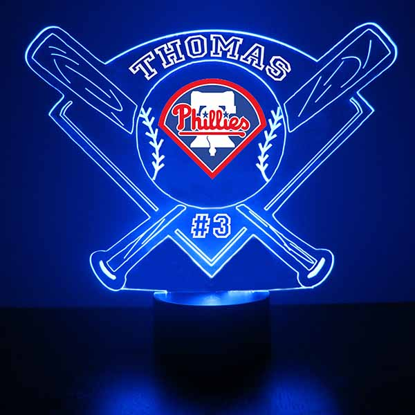 Philadelphia Phillies Baseball LED Light Sports Sign