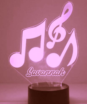 Music Notes LED Night Lights