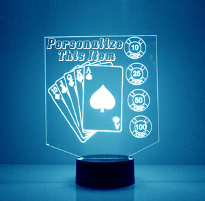 Poker LED Night Light