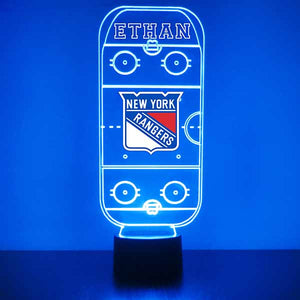 New York Rangers Hockey Rink LED Sports Sign