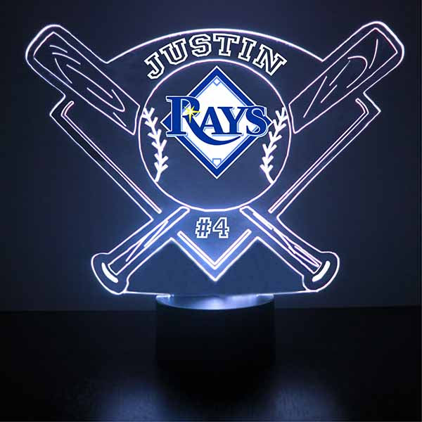 Tampa Bay Rays Baseball LED Light Sports Sign