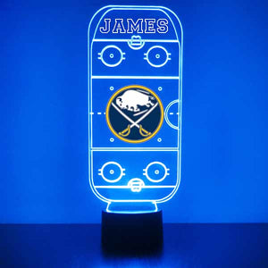 Buffalo Sabres Hockey Rink LED Sports Sign