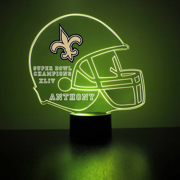 New Orleans Saints Football LED Sports Sign
