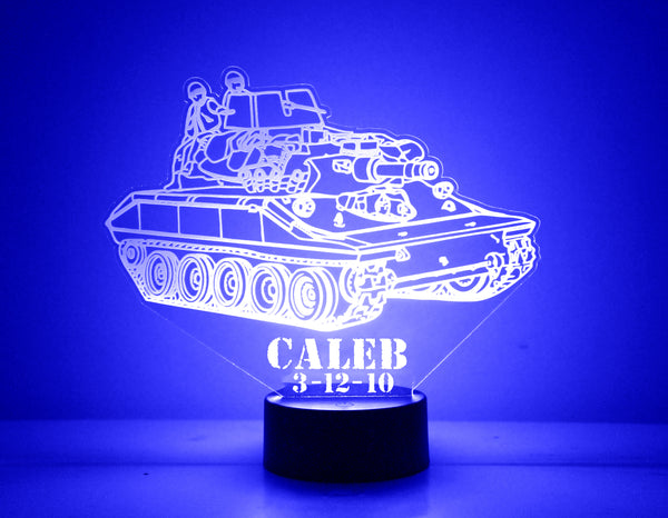 Tank LED Night Light