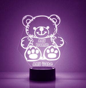 Teddy Bear LED Night Light