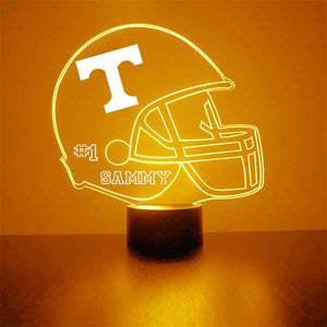 Tennessee Volunteers Helmet LED Light Sports Sign