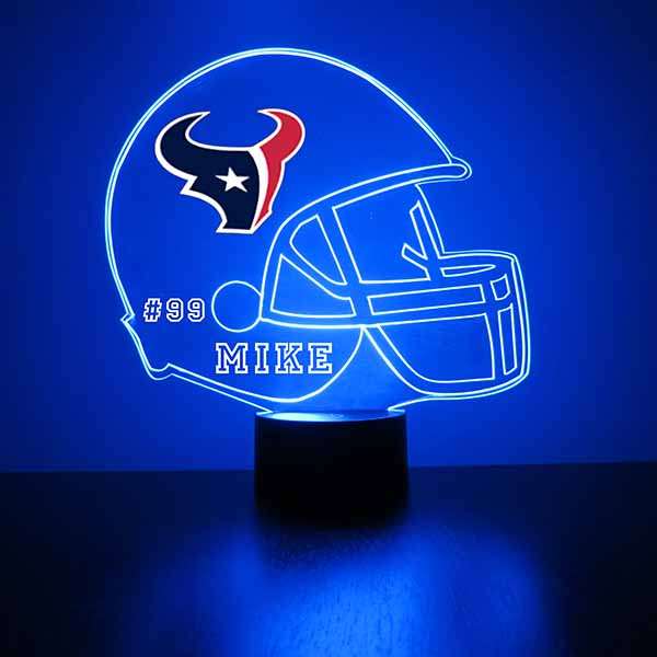 Houston Texans Football LED Sports Sign