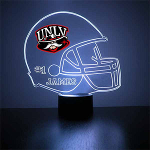 University of Las Vegas Nevada Football Helmet LED Sports Sign