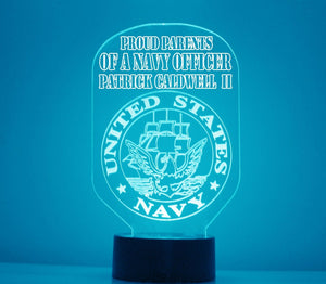 US Navy LED Night Light