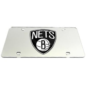 Brooklyn Nets NBA License Plate