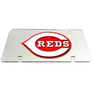 Cincinnati Reds MLB License Plate