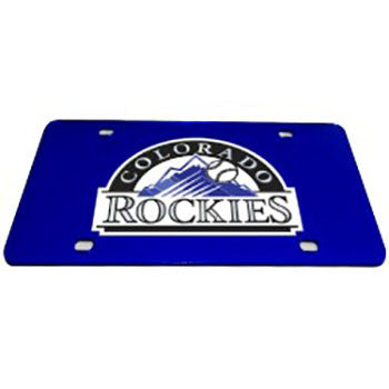 Colorado Rockies MLB License Plate