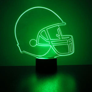 Create Your Own College Football Helmet LED Light!!!